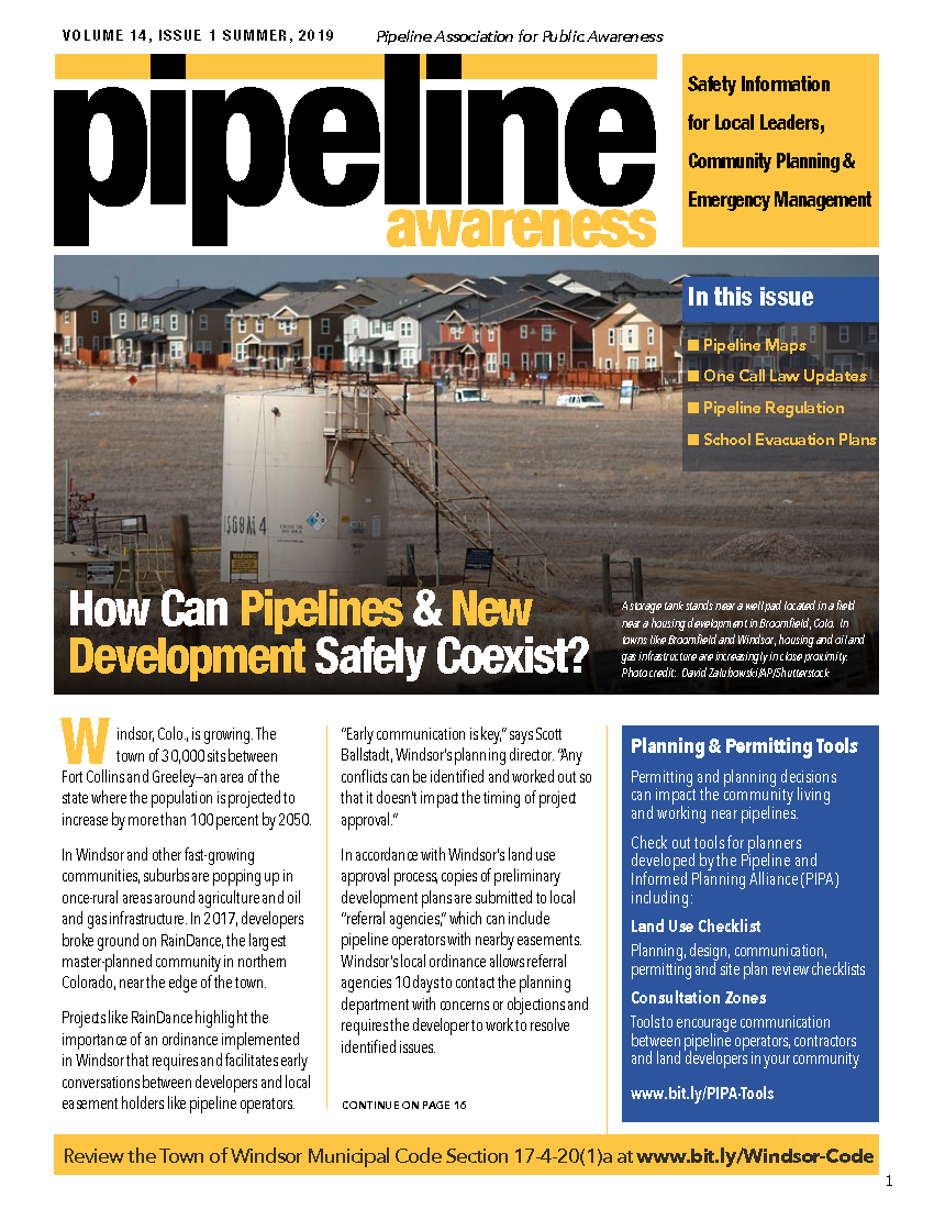 Pipeline Awareness Newsletter